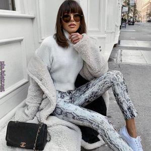 Zara Python Print Trousers